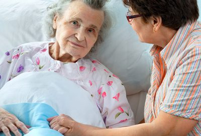 patient with dementia treated with dignity