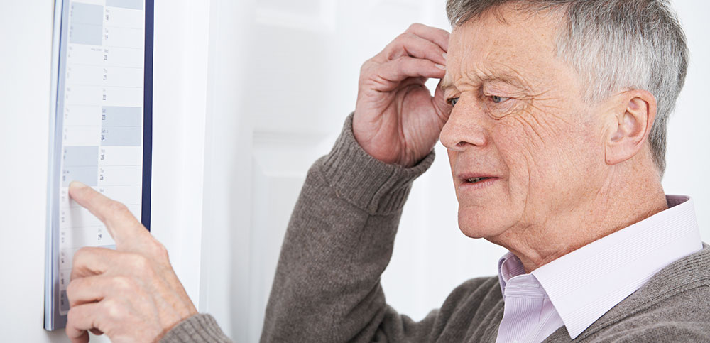 Old man seeking to Improve his memory
