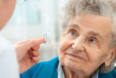 senior losing hearing